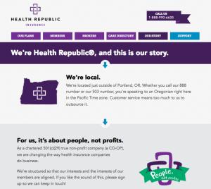 Health Republic Insurance Website