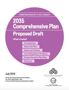 Bureau of Planning and Sustainability • 2035 Comprehensive Plan Draft • https://www.portlandoregon.gov/bps/65310