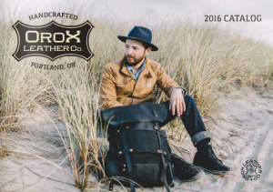 Orox Leather Co. Catalog • http://bit.ly/2cQLyES