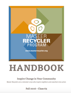 Master Recycler Program Handbook • http://www.masterrecycler.org/members-manual/
